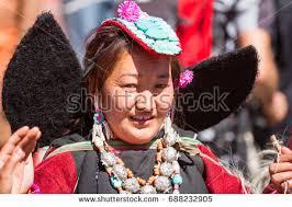ladakh clothing leh jammu kashmir india sep 01 stock photo 688232905