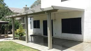 aluminum patio cover solid 8 u0027 x 20 u0027