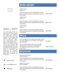 top resume templates free resume templates word template cv best 25 ideas on