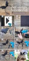 kids halloween bat costume diy bat wings headband headband tutorial bats and tutorials