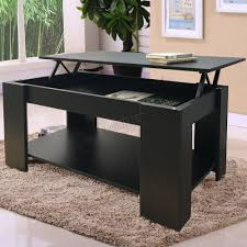 Coffee Tables With Lift Up Tops by Foxhunter Lift Up Top Coffee Table Mdf With Storage And Shelf