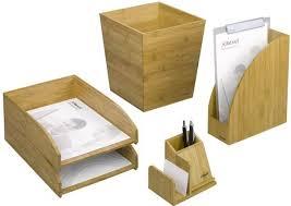 accesoires de bureau bamboo la gamme d accessoires de bureau 100 écolo