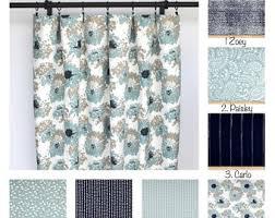 Navy Blue Curtains For Nursery Nursery Curtains Etsy