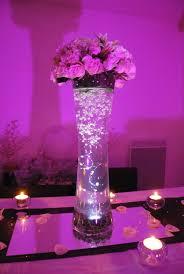 centre table mariage décoration mariage des centres de table lumineux