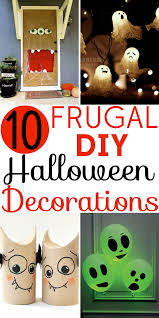 homemade halloween decorations for party halloween decorations 10 easy diy crafts home made halloween