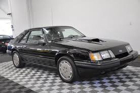 1985 5 mustang svo 1985 ford mustang svo black grey leather 5 speed manual books only