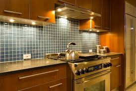 Blue Tile Kitchen Backsplash Kitchen Modern Kitchen Exhaust Hood With Under Cabinet Kitchen