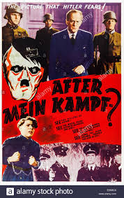after mein kampf us poster 1940 stock photo royalty free image