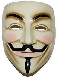imonic v for vendetta mask anonymous fawkes