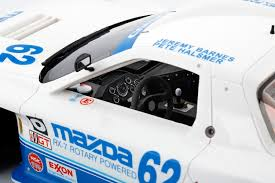Jeremy Barnes Mazda 2015 Mazda Rx 7 Gto Imsa 62 Mazdaspeed Resin Model Car In 1 18
