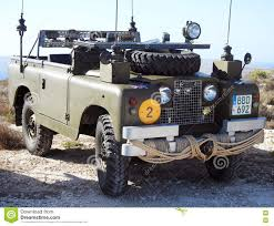 land rover vintage classic series 1 military land rover editorial photography image