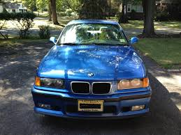 Bmw M3 1999 - e36 m3 in estoril blue