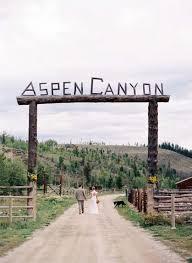 Weddings In Colorado Wild Western Wedding In Colorado