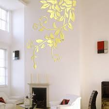 Decorative Mirrors For Living Room by Decorative Mirror Decals Promotion Shop For Promotional Decorative