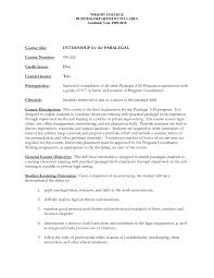 paralegal internship cover letter paralegal cover letter examples