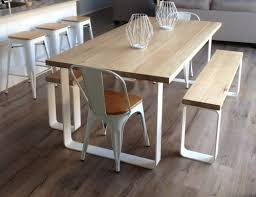 Rustic Dining Tables With Benches Dining Room Dining Table And Bench Set Home Interior Design