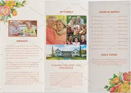 Unique Funeral Programs 17 Funeral Program Templates Free U0026 Premium Templates