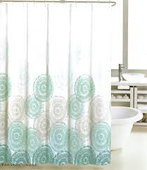 Gray And Teal Shower Curtain Amazon Com Tahari Fabric Shower Curtain Gray And Silver Words On