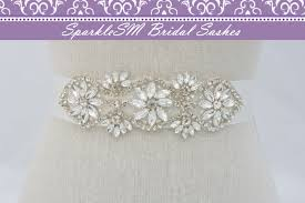 wedding sashes and belts rhinestone bridal sash beaded bridal belt wedding dress