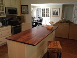 Wood Countertops Kitchen by Black Walnut Wood Countertops Traditional Kitchen Atlanta