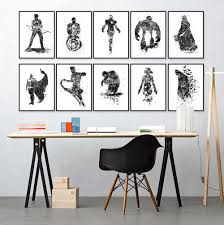 original watrercolor super heros batman hulk modern hipster wall original watrercolor super heros batman hulk modern hipster wall art abstract pop movie anime poster prints canvas painting gift super heroes galore