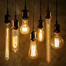 40w antique vintage retro edison bulbs e27 spiral incandescent
