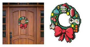 8 bit christmas ornaments new year info 2018