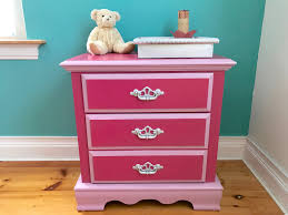 Pink Tool Box Dresser by A Little Dresser Updated In Two Pink Stains For One Little U0027s