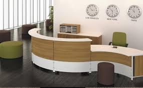 Rounded Reception Desk Modern Reception Desks Vancouver Buy Rite Office Furniture