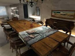 Rustic Oak Dining Tables Large Rustic Dining Table Rustic Dining Room Table Sets Rustic Oak