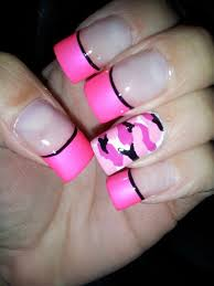 best 25 pink camo nails ideas on pinterest hunting camo nails