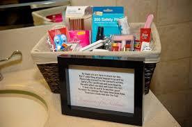 bathroom boxes baskets wedding bathroom basket sign home design tips and guides