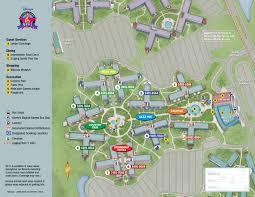 Disney World Hotel Map Lovely Walt Disney World Map Cashin60seconds Info