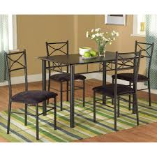 Metal Dining Room Chair by Amazon Com Target Marketing Systems 5 Piece Valencia Dining Set