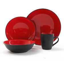 gibson vivendi 2 tone dinnerware set 16