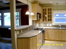 L Shaped Island In Kitchen Architecture Adorable L Shaped Small Kitchen With Pendant Lamp