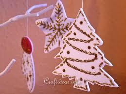 and winter craft foam ornament