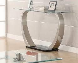 Glass Hallway Table Inspiration Idea Glass Hallway Table With Console Table Teak Root