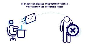 Rejection Letter To Candidate rejection letter sle for unsuccessful candidates