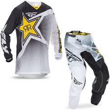 motocross helmet rockstar fly racing 2017 kinetic mesh rockstar motocross jersey u0026 pants