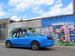 sky blue mustang 2014 ford mustang gt road test and review autobytel com