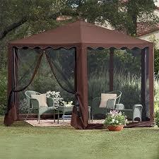 Lowes Awnings Canopies by Gazebo Lowes Tents Backyard Canopy Gazebo Amazon Gazebo