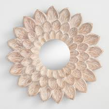 mesmerizing wall mirrors in south africa carved floral mirrored