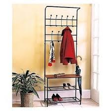 Entryway Storage Bench With Coat Rack Coat Hat Racks Entryway Storage Bench Coat Rack