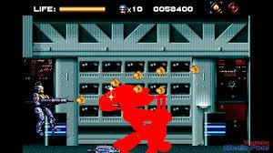 robocop electrocutes himself youtube 1994 robocop versus the terminator sega genesis game playthrough