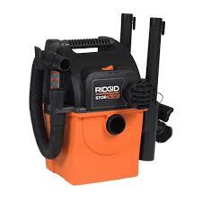 Portable Garage Home Depot Ridgid Stor N Go 5 Gal 5 0 Peak Hp Wet Dry Vac Wd5500 The Home