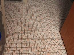 bathroom 23 trendy cork mosaic floor tile cream pattern