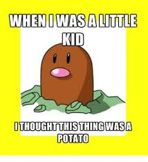 Meme Potato - when dwasalittle kid ithought this thing was a potato meme on