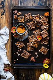 paleo vegan pecan pie bars food faith fitness