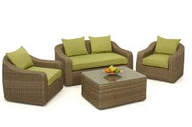 Wicker Sofa Bed by Maze Rattan Milan Rounded Sofa Set Maze Living